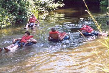 Tubing on the Rifle River